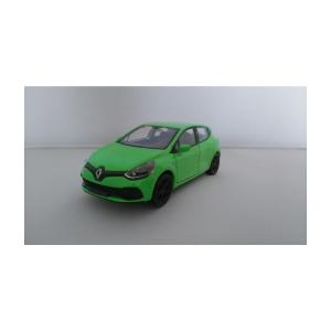 Welly Renault Clio Rs Metal Model Araba Yeşil Açık Çek Bırak