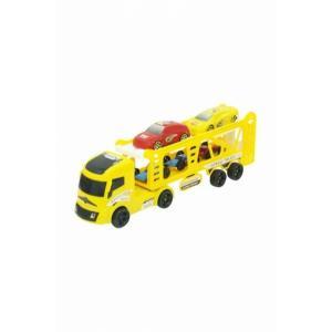 Taşıyıcı Vakumlu Tır Sarı 4 Arabalı