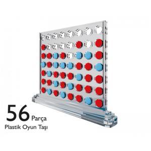 AKIL OYUNLARI 56 PARÇA PLASTİK OYUN TAŞI HEDEF 5