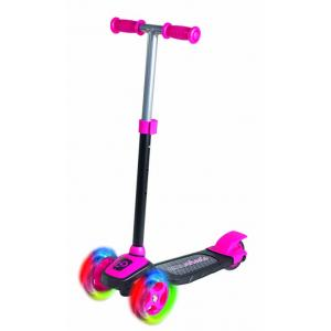 COOL WHEELS  3 Tekerlekli Işıklı Twist Scooter PEMBE RENK