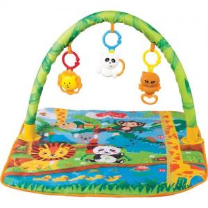 Babies Baby Play Mat Çıngıraklı Oyun Halısı +0 Yaş