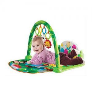 Babies Ninnili Müzikli Sevimli Orman Piyanolu Oyun Halısı 5 IN 1