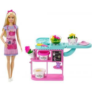 Barbie Çiçekçi Bebek ve Oyun Seti GTN58