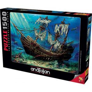 Anatolian Puzzle 1500 Parça Batık Gemi 4558