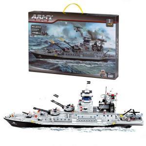 Bircan Bricks 1146 Parça Savaş Gemisi Lego Seti 22113