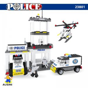 Bircan Bricks 474 Parça Polis İstasyonu Lego Seti 23801