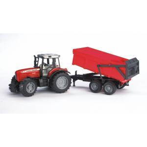 Bruder Massey Ferguson 7480 Traktör Ve Römork