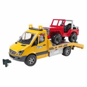 Bruder Mercedes Benz Kurtarıcı Kamyonet Ve Jeep 02535