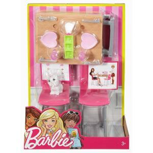 Barbie Ev İçi Dekorasyon Mutfak Seti DVX44-DVX45