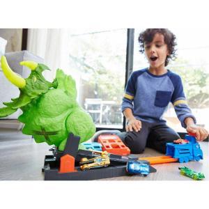 Hot Wheels Triceratops Saldırısı Oyun Seti