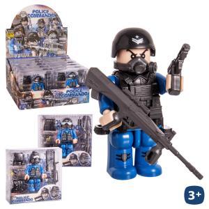 2 ADET BİRDEN Police Commando Seti 9 Cm