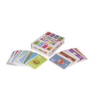 Flash Cards İNGİLİZCE ÖĞRENİYORUM ALFABE 18+