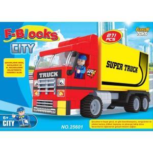 F-Blocks City Seri 271 Parça