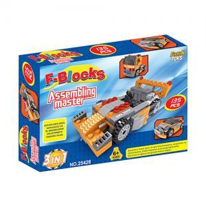 F-Blocks Arabalı Lego Assembling Master 135 parça