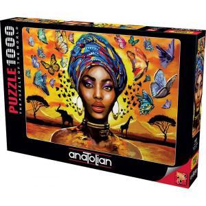 Anatolian 1000 Parça Hoş Kadın Puzzle 1087