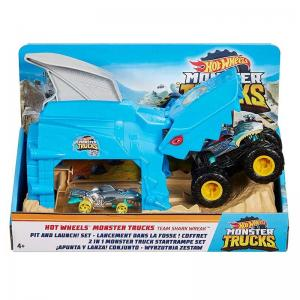 Hot Wheels® Monster Trucks Fırlatıcı Oyun Seti - GKY01