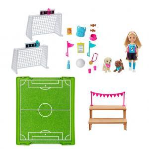 Barbie Seyahatte Futbolcu Chelsea Oyun Seti GHK37