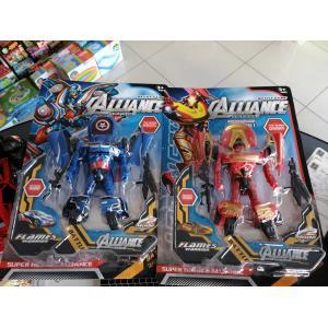 Hem Araba Hem Robot Olan Iron Man ve Captain America 2 MODEL