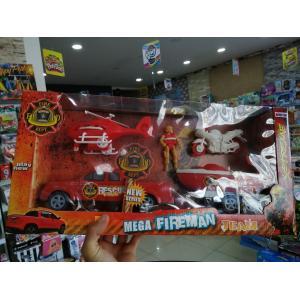 İtfaiye Kurtarıcı Seti Mega Fireman Team