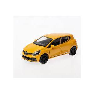 Welly 1:36 Ölçek Diecast Çek-Bırak Renault Clio RS -Sarı