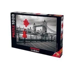 Anatolian Tower Bridge 1000 Parça Puzzle- 1040