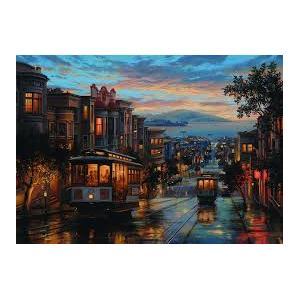 Anatolian 1500 Parça Puzzle San Francisco Sokakları