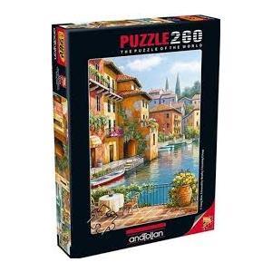Anatolian Puzzle Kanaldaki Kahve 260 Parça Puzzle