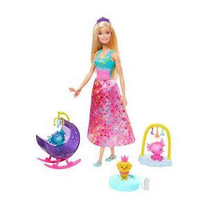 Barbie Dreamtopia Ejderha Kreş Oyun Seti  GJK51