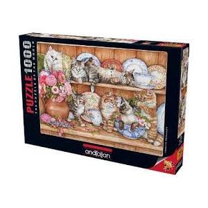 Anatolian Puzzle 1000 Parça Yavru Kediler 3158