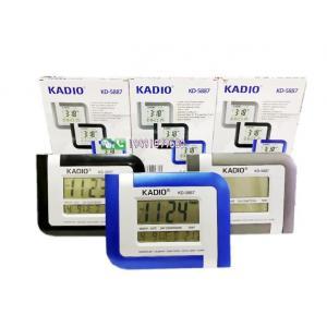 Kadıo KD-5887 Digital Clock Dijital Masaüstü Alarmlı Saat