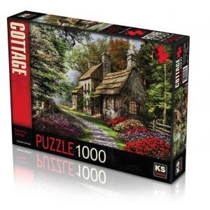KS Games Carnation Cottage 1000 Parça Puzzle-Karanfil Evi