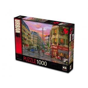 Ks Games Rue Paris 1000 Parça Puzzle Orijinal Ürün