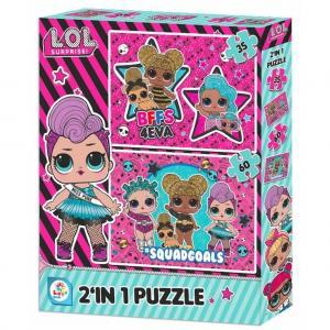 Lol Bebek 2'In 1 Puzzle (35 Parça ve 60 Parça)