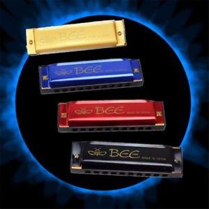 Mızıka 16 Delikli Harmonica Metal Alüminyum Gövde