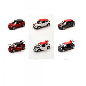 Işıklı Sesli Oyuncak Mini Coper Araba (Die Cast 1:28)