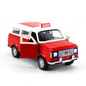 Nostalji Çiçek Abbas Minibüsü Arabası Model Metal Sesli Işıklı