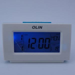 Olin 3805 Lcd Clock Dijital Masaüstü Işıklı Dereceli Alarmlı Saat