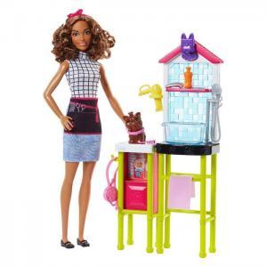 ORİJİNAL Barbie Ben Büyüyünce Oyun Seti Veteriner BARBİE