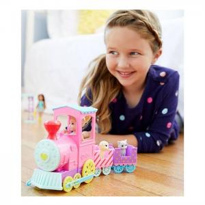ORİJİNAL Barbie Chelsea Ve Sevimli Treni FRL86