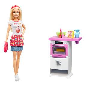 ORİJİNAL Barbie Mutfakta Oyun Seti FHP57