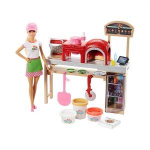 ORİJİNAL Barbie Pizza Yapıyor Oyun Seti FHR09