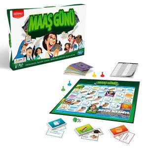 Orijinal Hasbro Monopoly Maaş Günü Türkçe Kutu Oyunu E0751