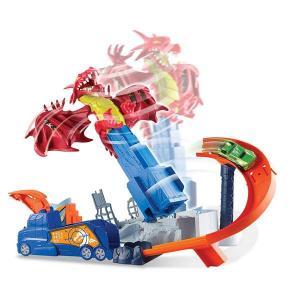 ORİJİNAL Hot Wheels Ejderha Macerası Oyun Seti DWL04