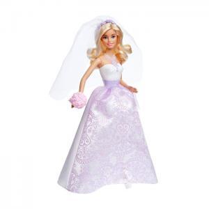 Orijinal Lisanslı Ürün Barbie Gelin Barbie Bebek 32 Cm CFF37