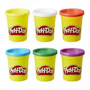 Orijinal Play Doh 6 Lı Oyun Hamuru Seti 6 Farklı Renk C3898