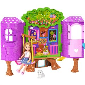 ORİJİNAL ÜRÜN Barbie Chelseanin Ağaç Evi FPF83