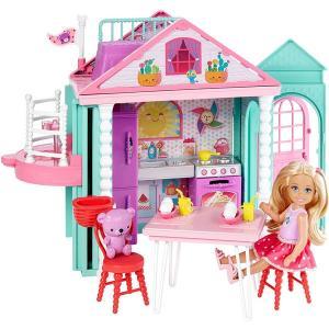 ORİJİNAL ÜRÜN Barbie Chelseanin İki Katlı Evi DWJ50