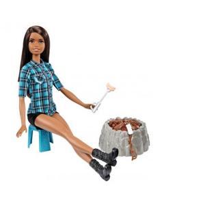 ORİJİNAL ÜRÜN Barbie Kampa Giden BEBEK FDB43 SESLİ IŞIKLI