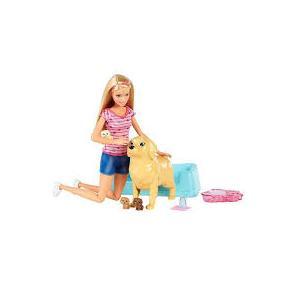 ORİJİNAL ÜRÜN Barbie ve Doğuran Köpeği BARBİE NEWBORN PUPS