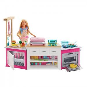 ORİJİNAL ÜRÜN Barbienin Mutfak Dünyası Oyun Seti FRH73